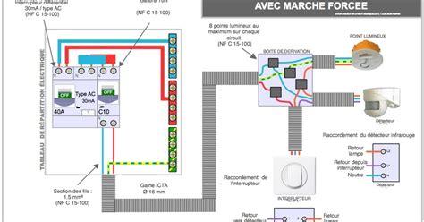 Interrupteur Detecteur De Mouvement Va Et Vient by Electricit 233 Comment Brancher Un D 233 Tecteur De Pr 233 Sence