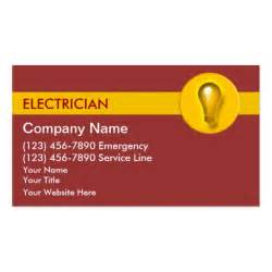 electrician business cards templates free electrician business cards zazzle