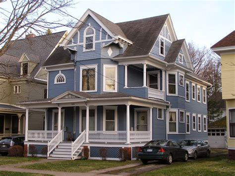 victorian home builders my central new york queen anne and stick style