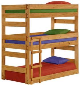 Three Person Bunk Bed Bunk Beds For Three From Totally Furniture Toys