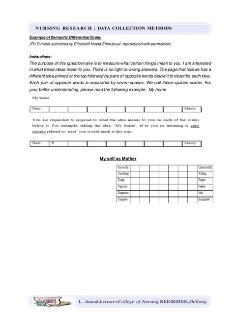 dissertation data collection methods data collection methods nursing research