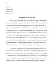 Dover Analysis Essay by Essay Sa 1 1 Argument Analysis Essay 131