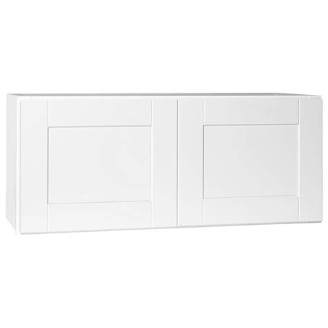 over refrigerator cabinet home depot hton bay shaker assembled 36x12x24 in above