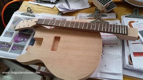 guitar column les paul junior kit build