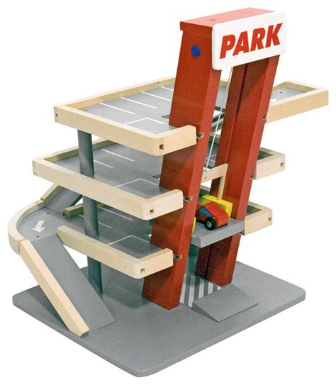 And Doug Garage by And Doug Parking Garage Modern Toys And