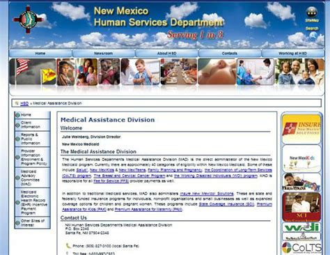 Detox Centers In Albuquerque Nm Medicare Medicaid by New Mexico Assistance Programs State Rx Plans