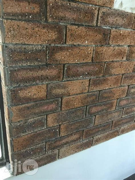 Brick Flooring For Sale by Brick Wall Tiles For Sale In Lagos Mainland Buy Building