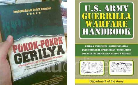 Buku Pokok Pokok Gerilya Bikin Keok Amerika Usai Terapkan Taktik Perang