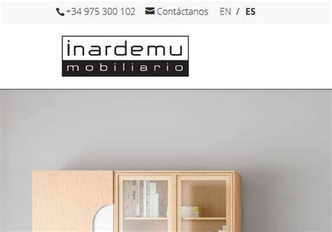 paginas de venta de muebles online dise 241 o de p 225 ginas web para empresas de mobiliario y