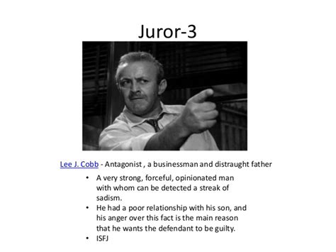 Twelve Angry Juror 3 Essay by 12 Angry