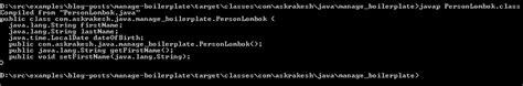 Lombok Code Dev java project lombok journaldev