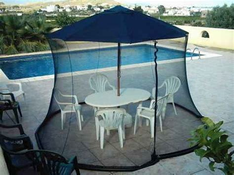 Patio Umbrella Mosquito Net Mosquito Netting For Patio Umbrella To Protect You From Insect Bite