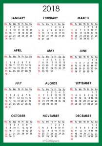 Calendar 2018 Shop New York Web Design Studio New York Ny 2018 Calendar