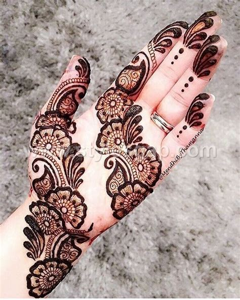 peacock round tikki mehndi designs latest collection 2017 2018