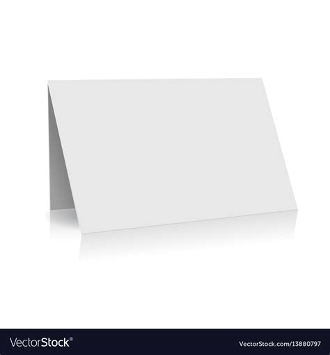 Greeting Card Folder Template by White Folder Paper Greeting Card Template Royalty Free