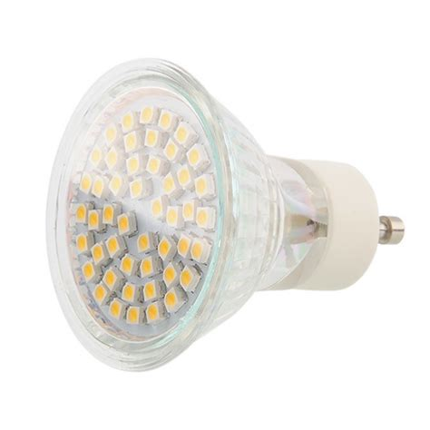 Gu10 Led Light Bulbs 50w 1 10x Gu10 E27 Light Bulbs 48 60 Led Smd Bulb 50w 60w Halogen Replacement Socket Ebay