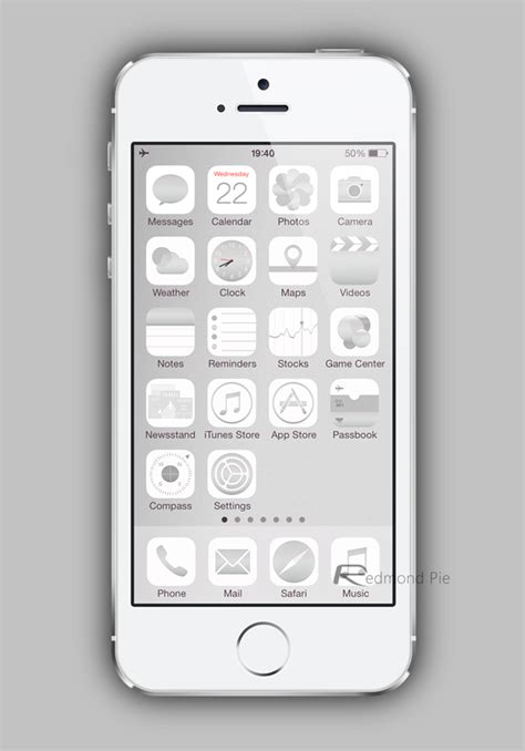 gold winterboard themes this ios 7 theme perfectly matches iphone 5s gold space
