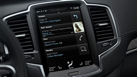 Volvo Xc90 Touch Screen 2016 Volvo Xc90 Sensus Touchscreen Infotainment Review