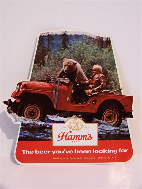 jeep beer hamm s beer stickers on ebay ewillys
