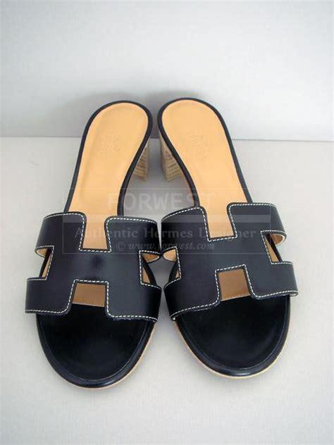 hermes h sandals hermes black oasis h sandals oran heel shoes box leather