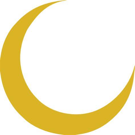 crescent moon clipart crescent moon clip at clker vector clip