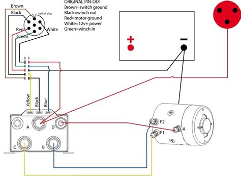 warn atv winch wireless remote wiring diagram warn winch
