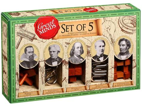 Puzzle 3d Great Minds Set Of 5 great minds set of 5 house of science
