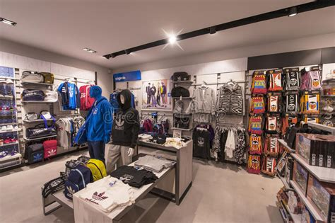 sports time fan shop in the sport store editorial stock photo image of