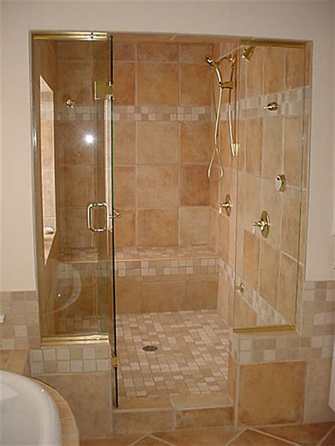 Shower Enclosure With Bench Understanding The Basic Designing Of Walk In Showers With
