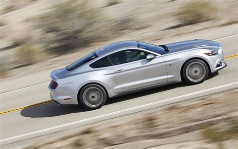 2015 ford mustang silver 2015 ford mustang gt silver side view