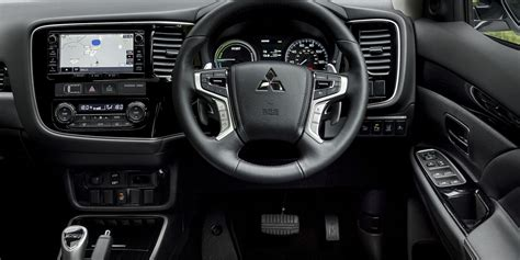 mitsubishi outlander interior 2017 2017 mitsubishi outlander phev redesign specs and price