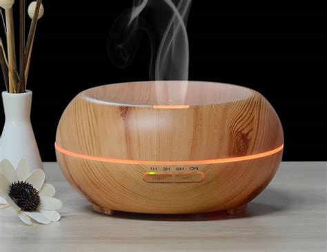 aroma scent diffuser innogear wood grain ultrasonic diffuser review 187 the