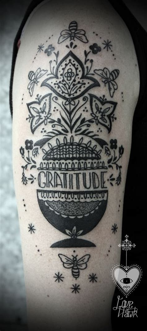gratitude tattoo 25 best ideas about gratitude on