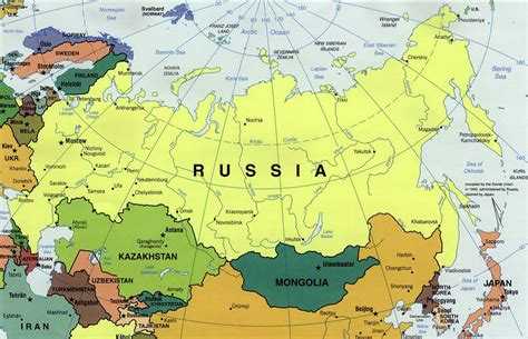 map of south russia geography of russia