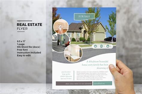 free realtor flyer templates 17 free download real estate flyer