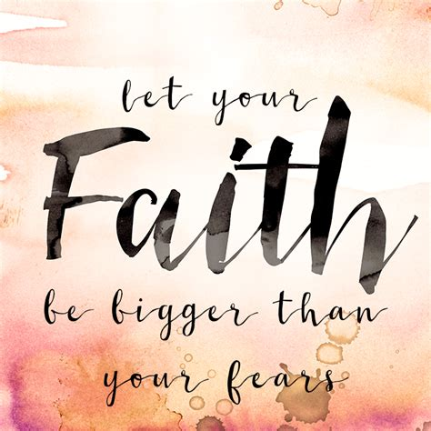 let your faith be bigger than your fear tattoo let your faith be bigger than your fears