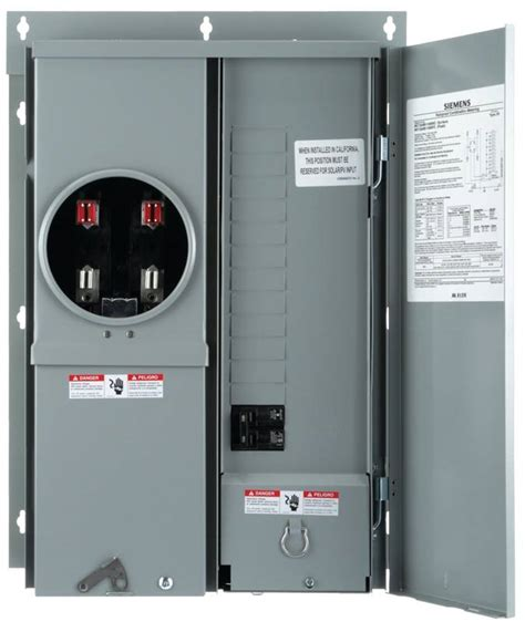 Constant Cl Tang Ere Meter Ac1000 siemens mc1224b1100efc combination meter load center 120 240 vac 100 a q2100h breaker