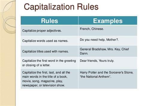 Do You Capitalize Calendar Do You Capitalize Days Capitalization Letter Giving