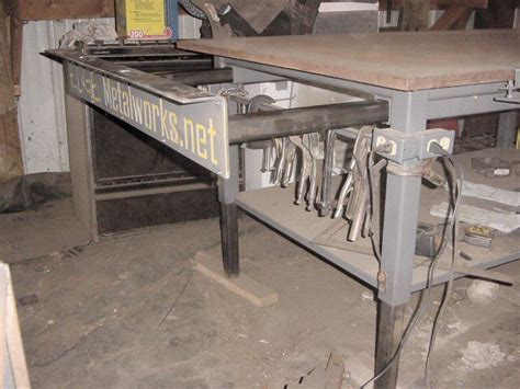 welding bench ideas welding table design pictures