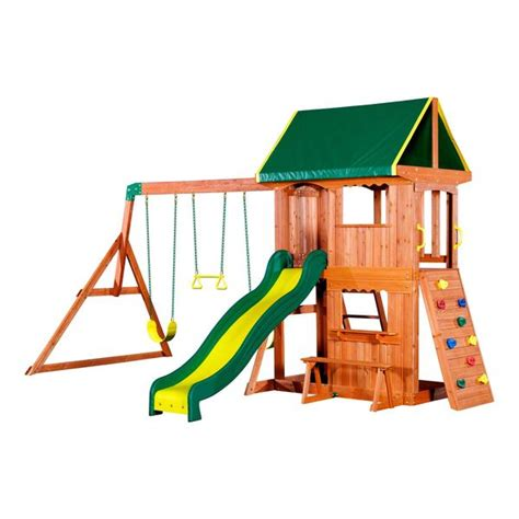 backyard discovery somerset somerset wooden swing set playsets backyard discovery