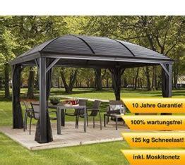 Gartenpavillon 4x4 by Pavillon Mit Festem Dach Die Sch 246 Nsten Und Besten