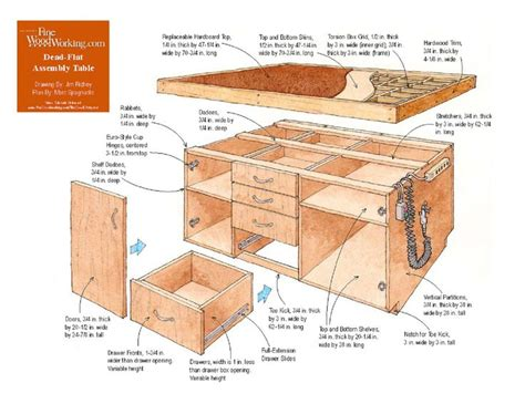 dead flat assembly table 78 best images about woodworking assembly tables on