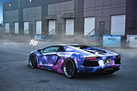 lamborghini modified sr auto dxsc lamborghini aventador galaxy modified