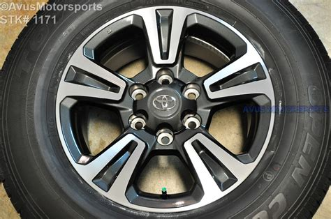 2016 toyota tacoma oem factory 17 quot trd wheels tires land
