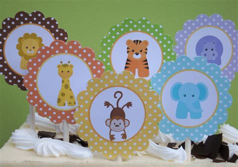 Baby Animal Baby Shower Decorations by Zoo Animal Baby Shower Decorations Best Baby Decoration