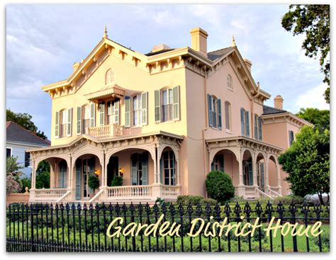 New Orleans Real Estate Garden District new orleans