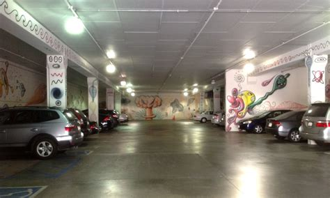 Kenny S Garage by Space In A Pasadena Parking Garage