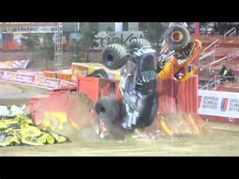 monster truck backflip videos amazing monster truck double backflip youtube