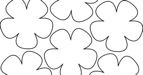 Paper Flower Templates Templates For Wafer Paper Flowers Pinterest Flower Flower Lei And Hawaiian Flower Template