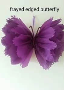 How To Make A Butterfly Out Of Tissue Paper - details about hanging ceiling decorations tissue